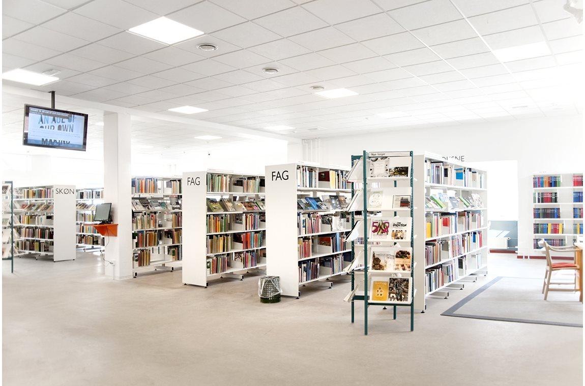 Openbare bibliotheek Svinninge, Denemarken  - Openbare bibliotheek