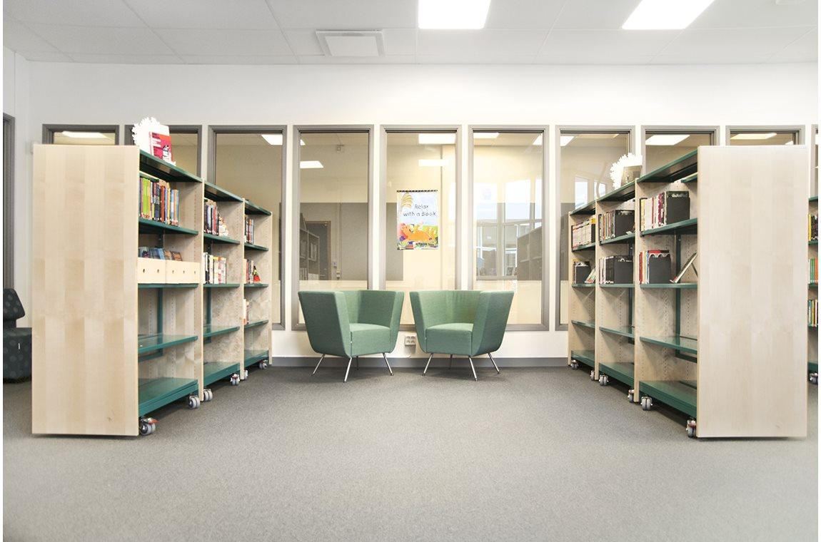 Rosengårdsskolan, Malmö, Sweden - School libraries