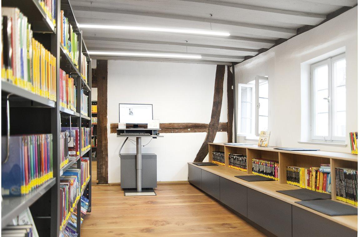 Ehningen Bibliotek, Tyskland - Offentligt bibliotek