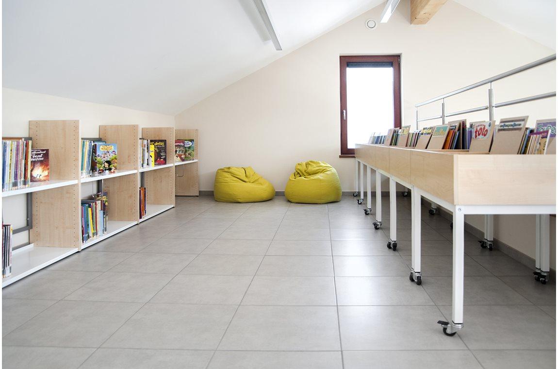 Léglise Public Library, Belgium - Public libraries