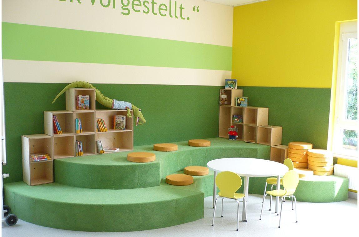 Dresden Klotzche Public Library, Germany - Public libraries