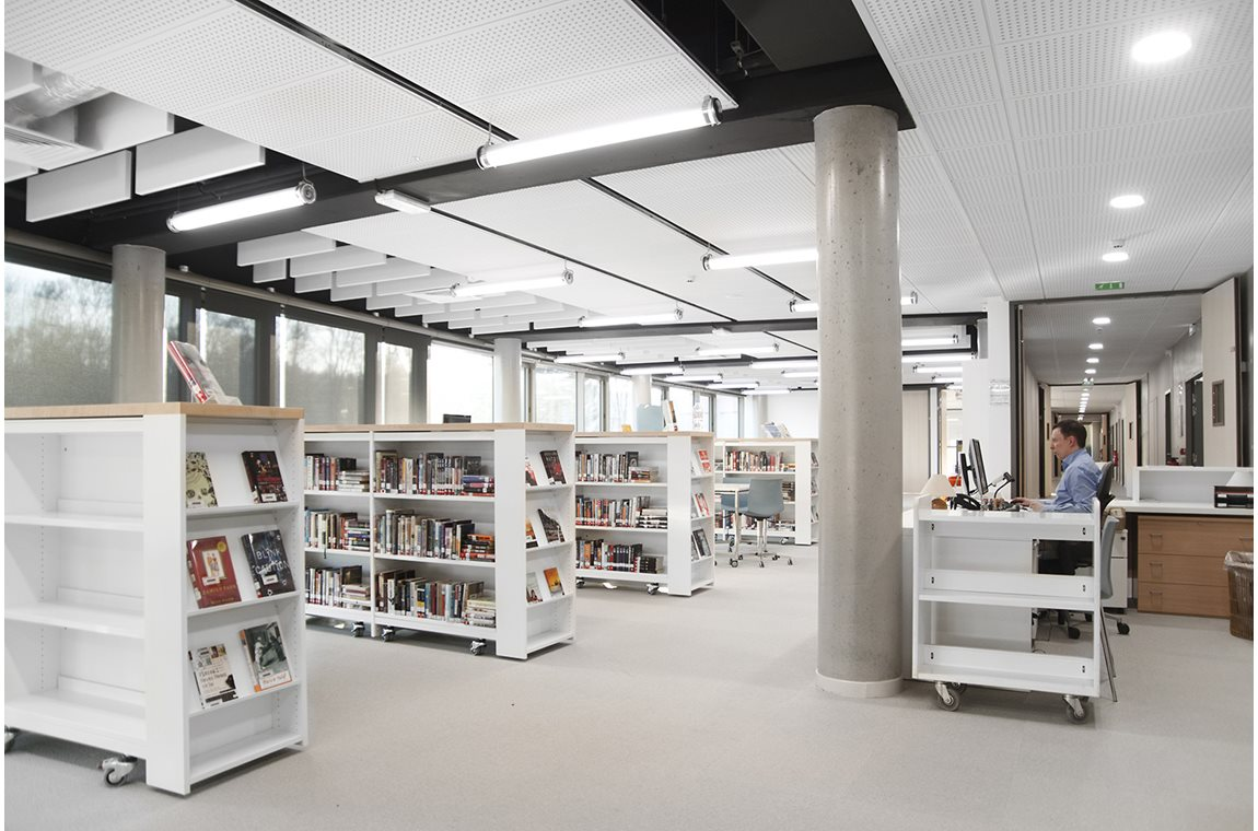 American School of Paris, Saint Cloud, France - School libraries