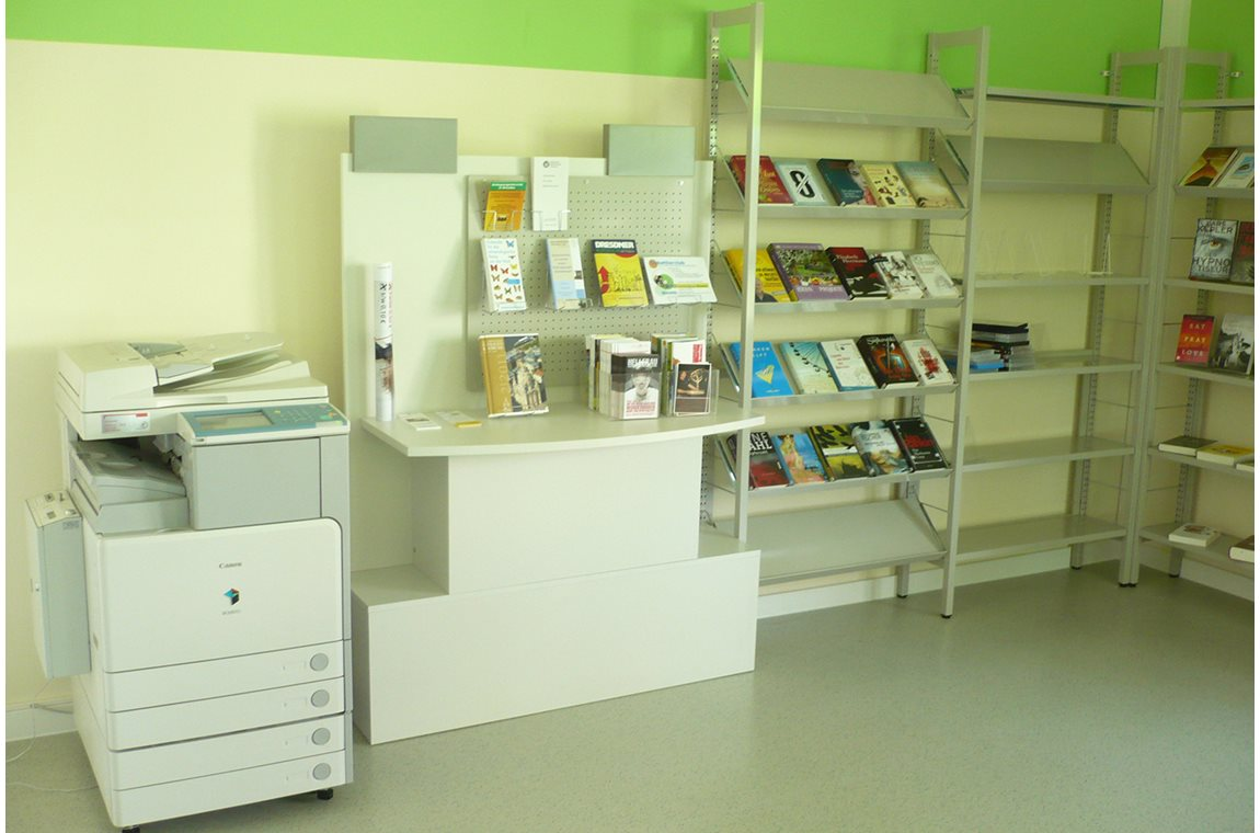 Dresden Klotzche bibliotek, Tyskland - Offentligt bibliotek