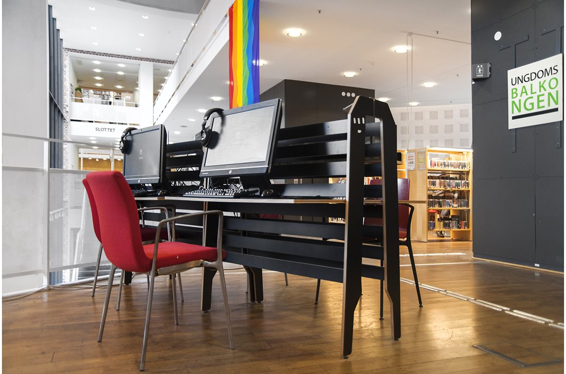 Malmö Stadsbibliotek, Sverige - Offentliga bibliotek