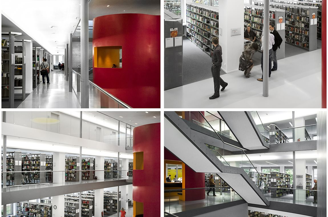 Frankfurt Public Library, Germany - Public libraries