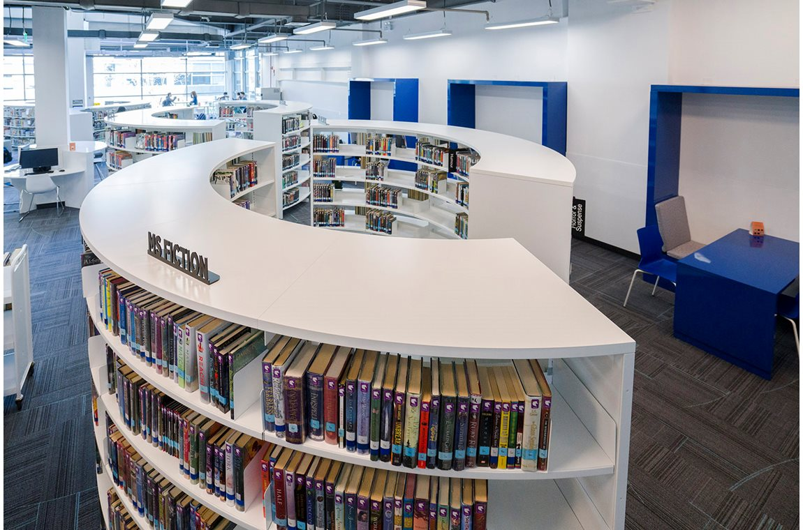 International School of Beijing, China - School libraries