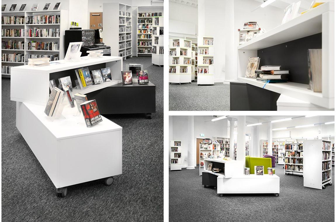 Greenock bibliotek, Storbritannien - Offentligt bibliotek