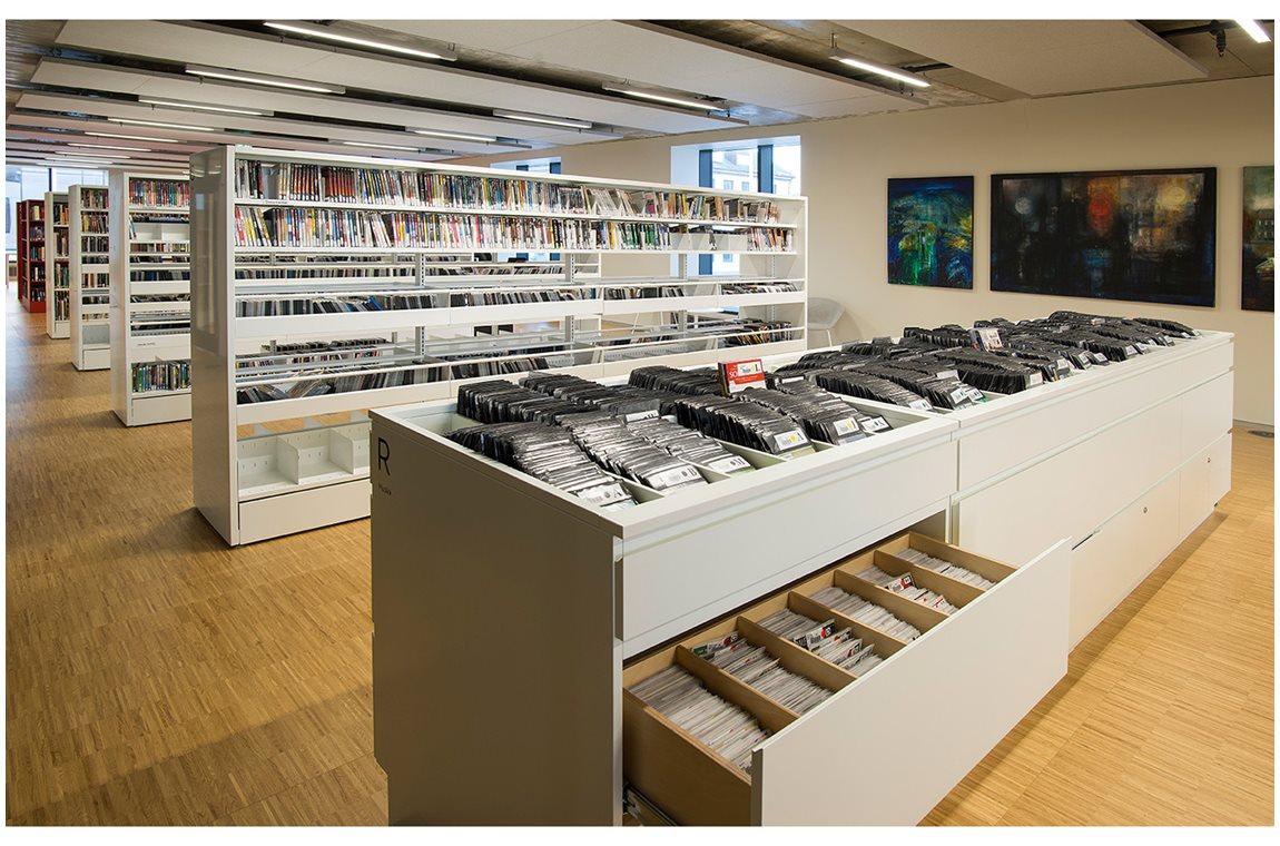 Öffentliche Bibliothek Stormen in Bodø, Norwegen - Öffentliche Bibliothek