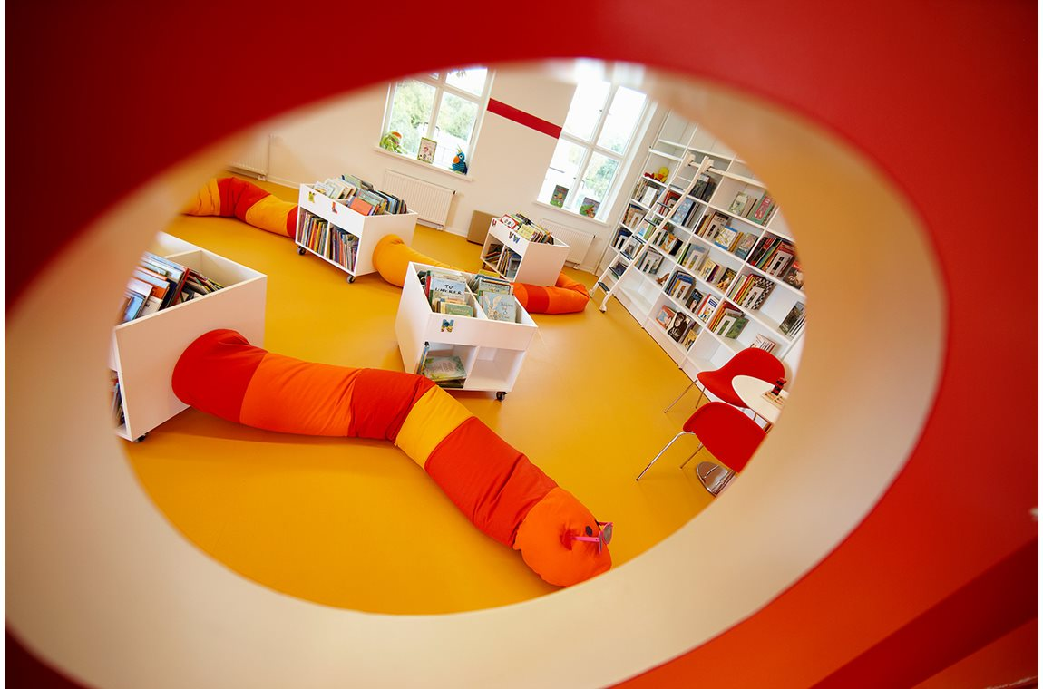 Bibliothèque municipale de Dalum, Danemark - Bibliothèque municipale