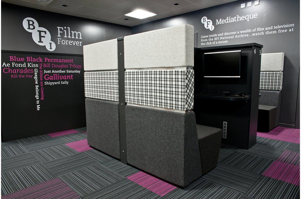 Bridgeton Library & BFI Mediathek, Glasgow, Großbritannien - Öffentliche Bibliothek