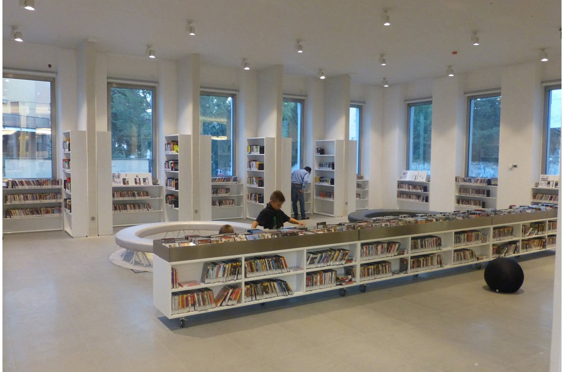 Il Pertini Public Library, Italy - Public libraries