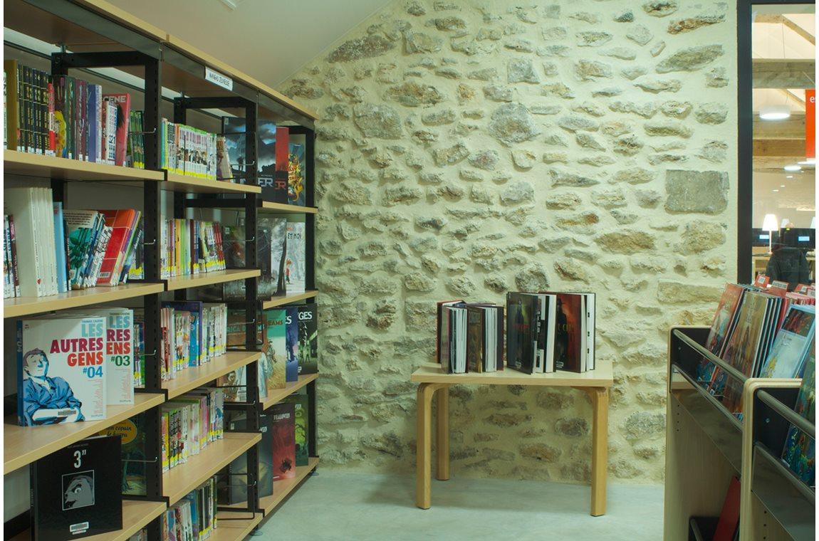 Lieusaint Cultural Center Library, France - Public libraries