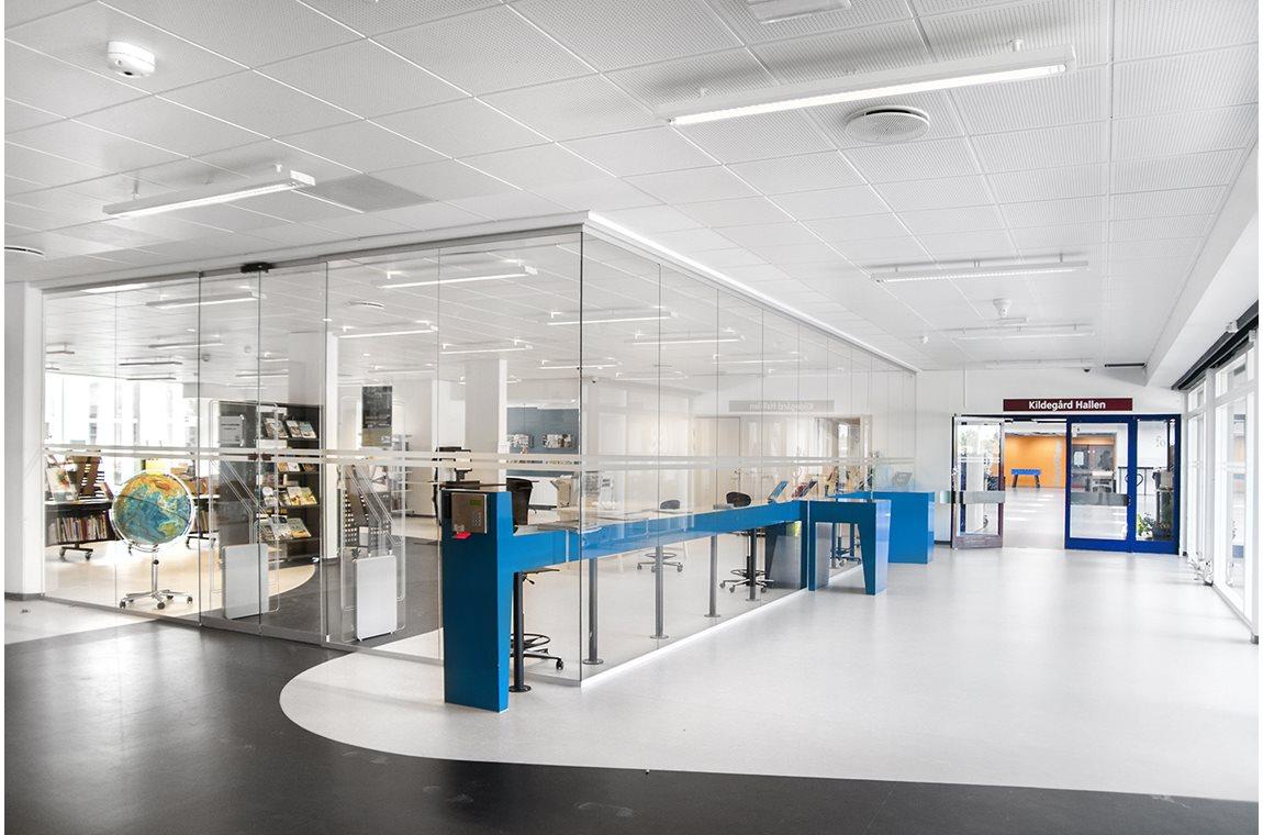 Biblioteket Kilden, Kildegaardskolen, Danmark -