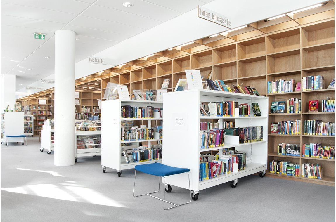 Openbare bibliotheek Marine, Colombes, Frankrijk - Openbare bibliotheek