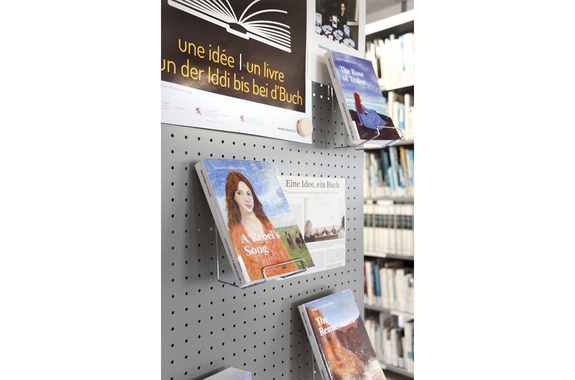Fieldgen Privatskole, Luxembourg - Skolebibliotek