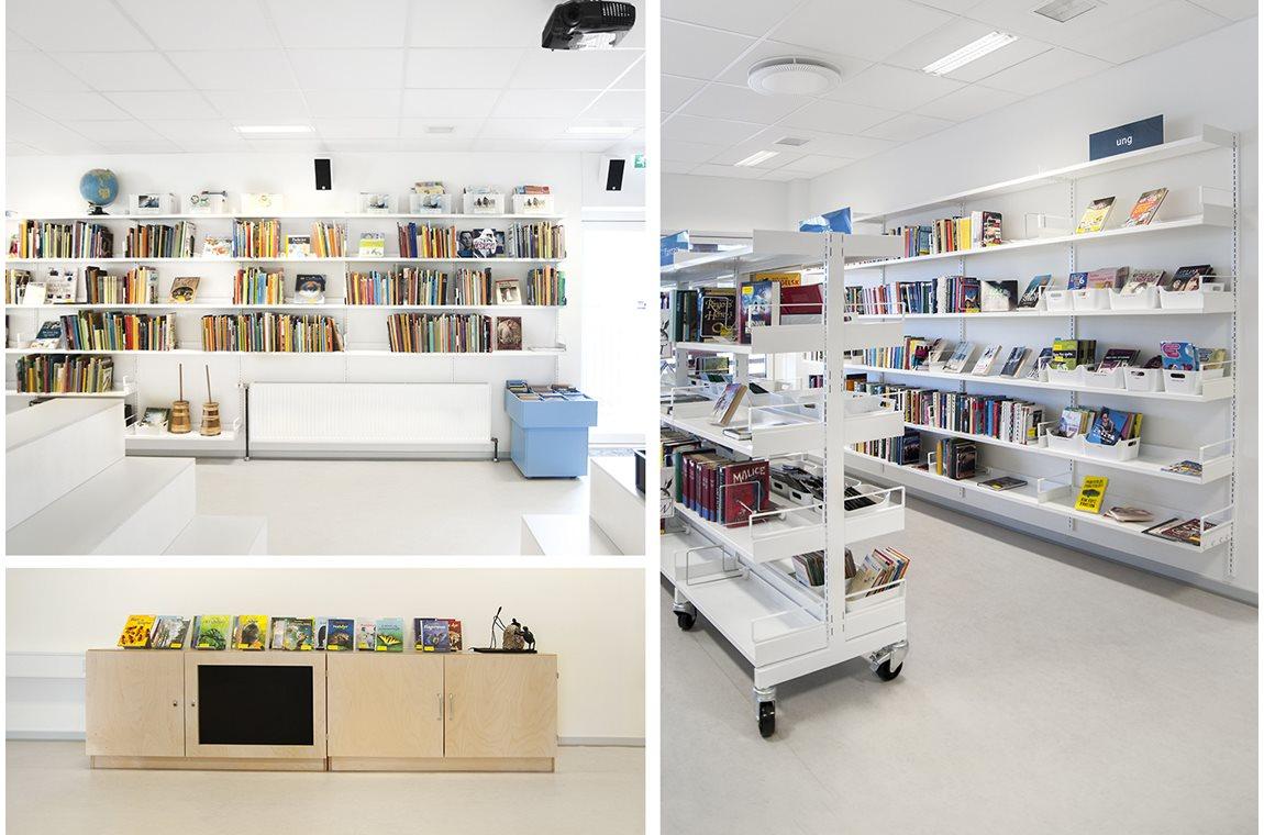 Bibliothèque municipale de Thurø, Danemark -