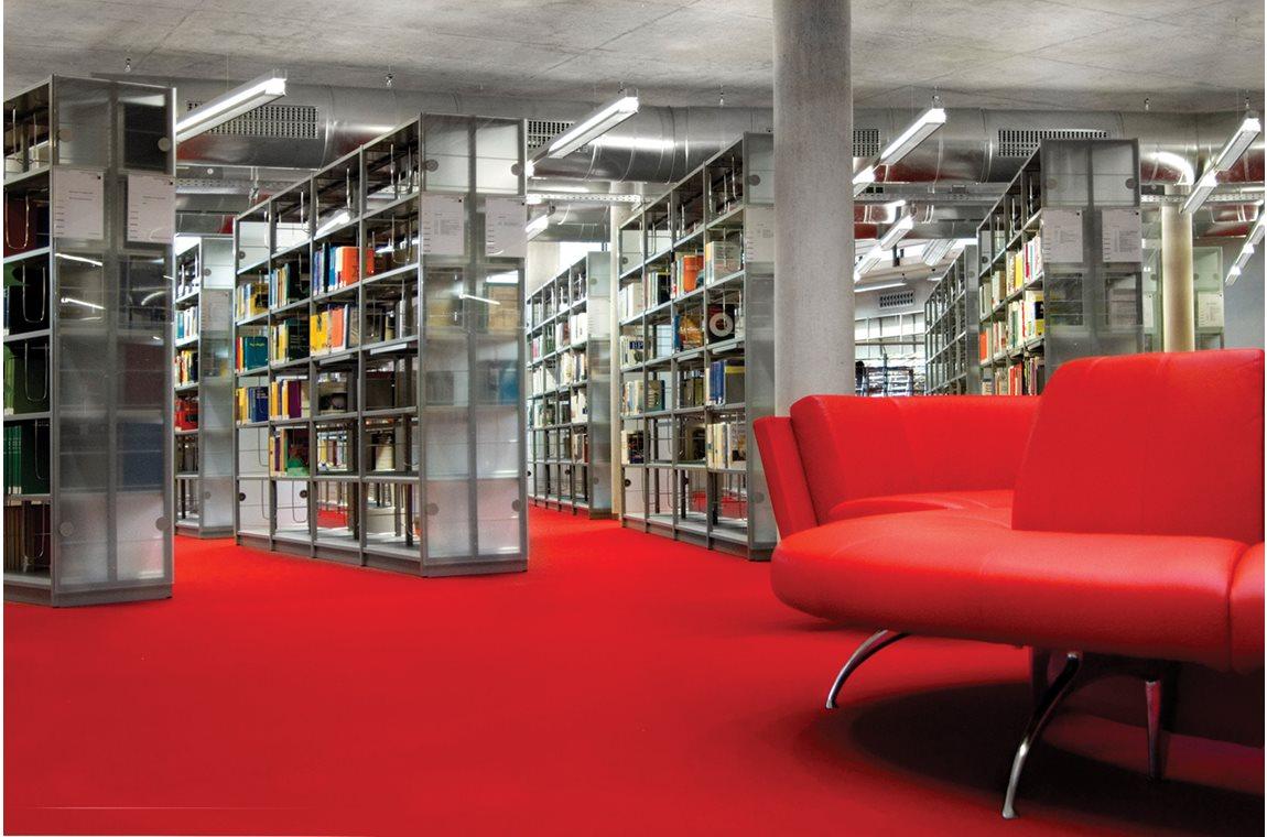 Regensburg univesitetsbibliotek, Tyskland - Akademisk bibliotek
