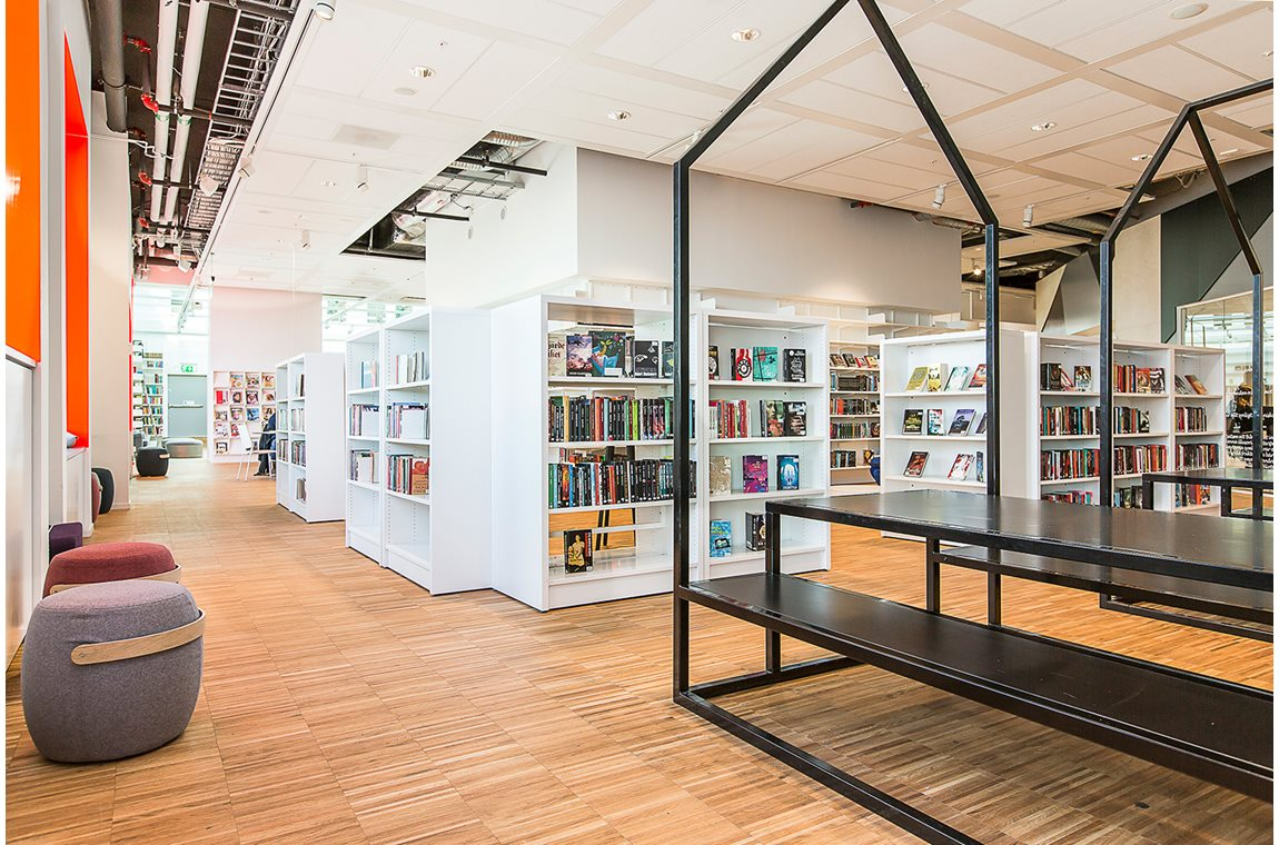 Kista Public Library, Stockholm, Sweden - Public libraries