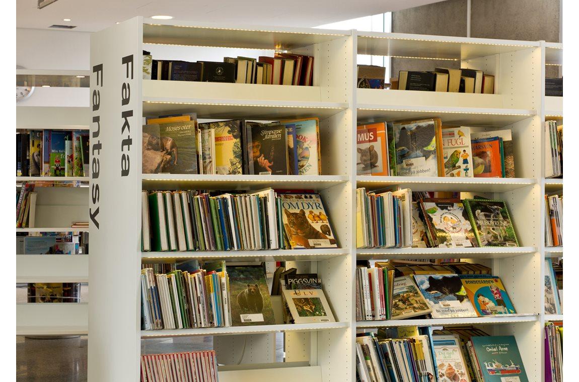 Lørenskog bibliotek, Norge - Offentligt bibliotek