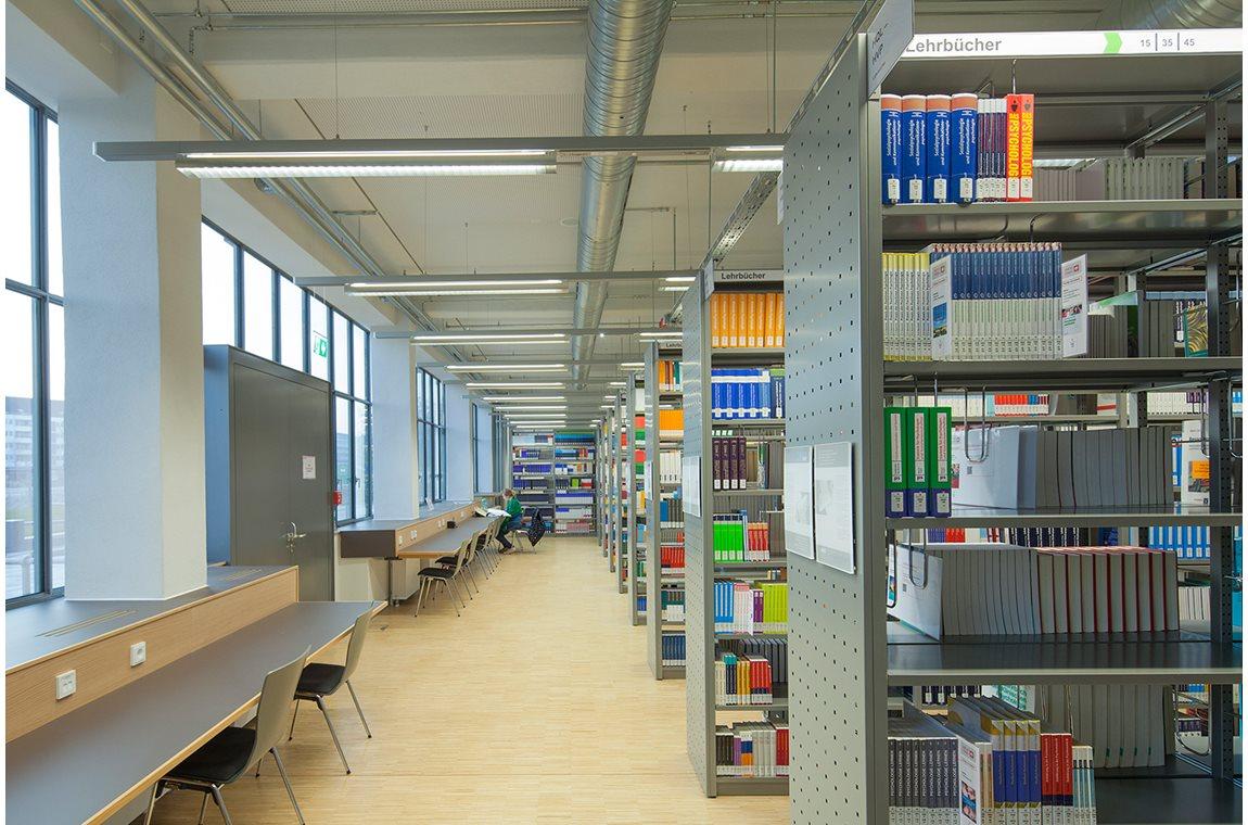 Düsseldorf Universitetsbibliotek, Tyskland - Akademisk bibliotek