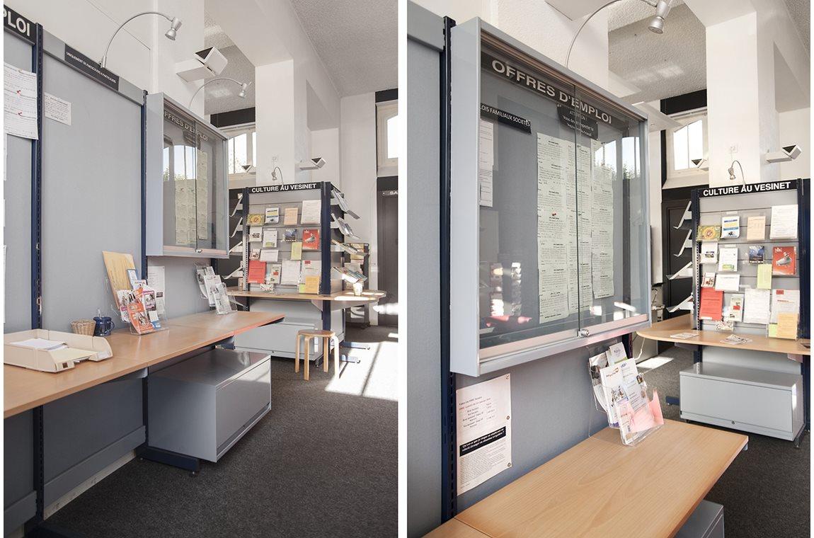 Le Vésinet Informationscenter, Frankrike -