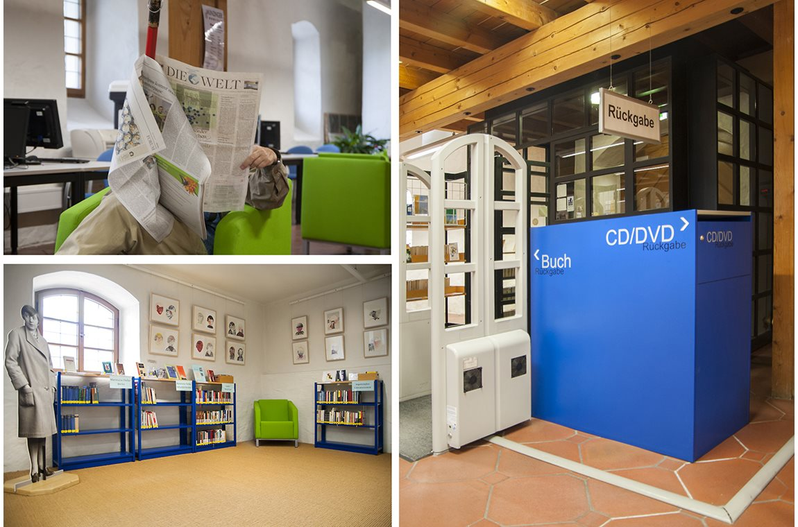 Openbare bibliotheek Ingolstadt, Duitsland - Openbare bibliotheek