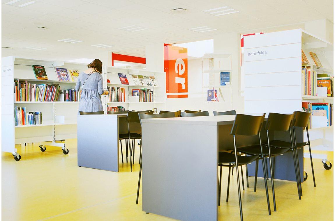Christiansfeld bibliotek, Danmark - Offentliga bibliotek