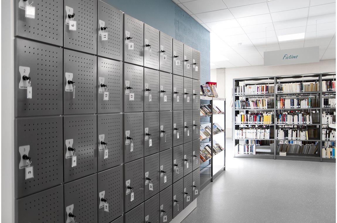 Bertrix bibliotek, Belgien - Offentliga bibliotek