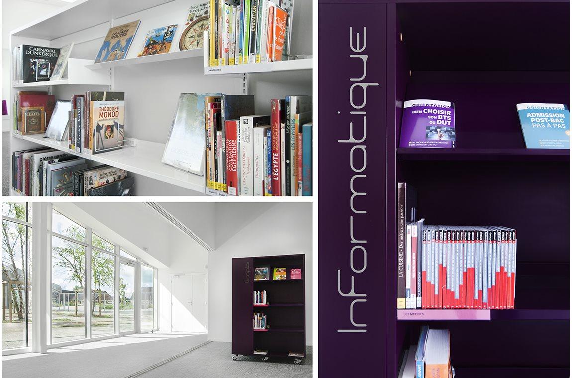 Jean Ferrat Bibliotek i Rouvroy, Frankrig - Offentligt bibliotek