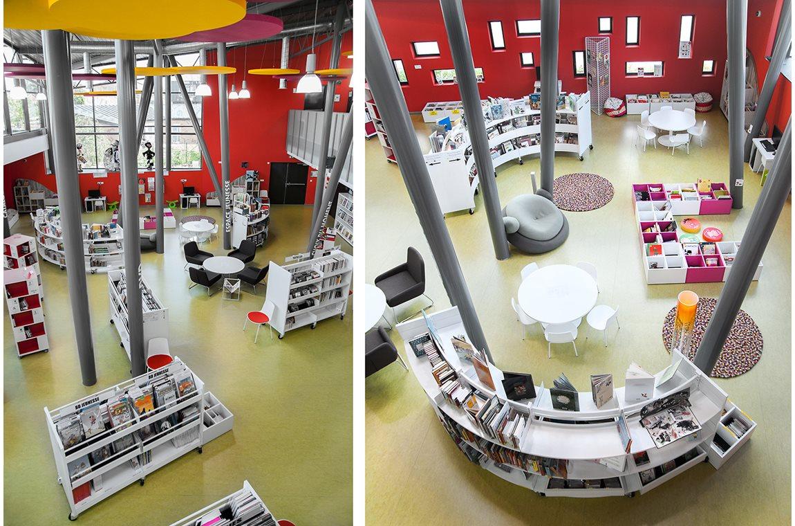 Escaudain Public Library, France - Public libraries