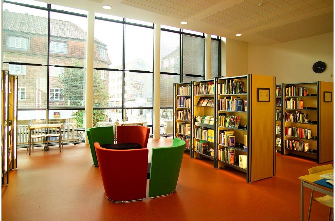 Bibliothèque municipale de Vanløse, Danemark - Bibliothèque municipale