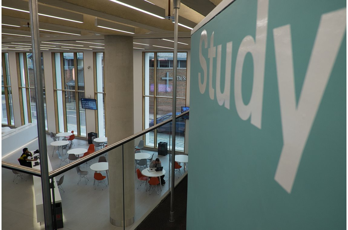 Bibliothèque de l'université Bedfordshire, Royaume-Uni - Bibliothèques universitaires et d'écoles supérieures