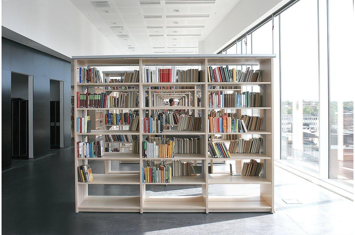 Malmø universitetsbibliotek, Sverige - Akademisk bibliotek