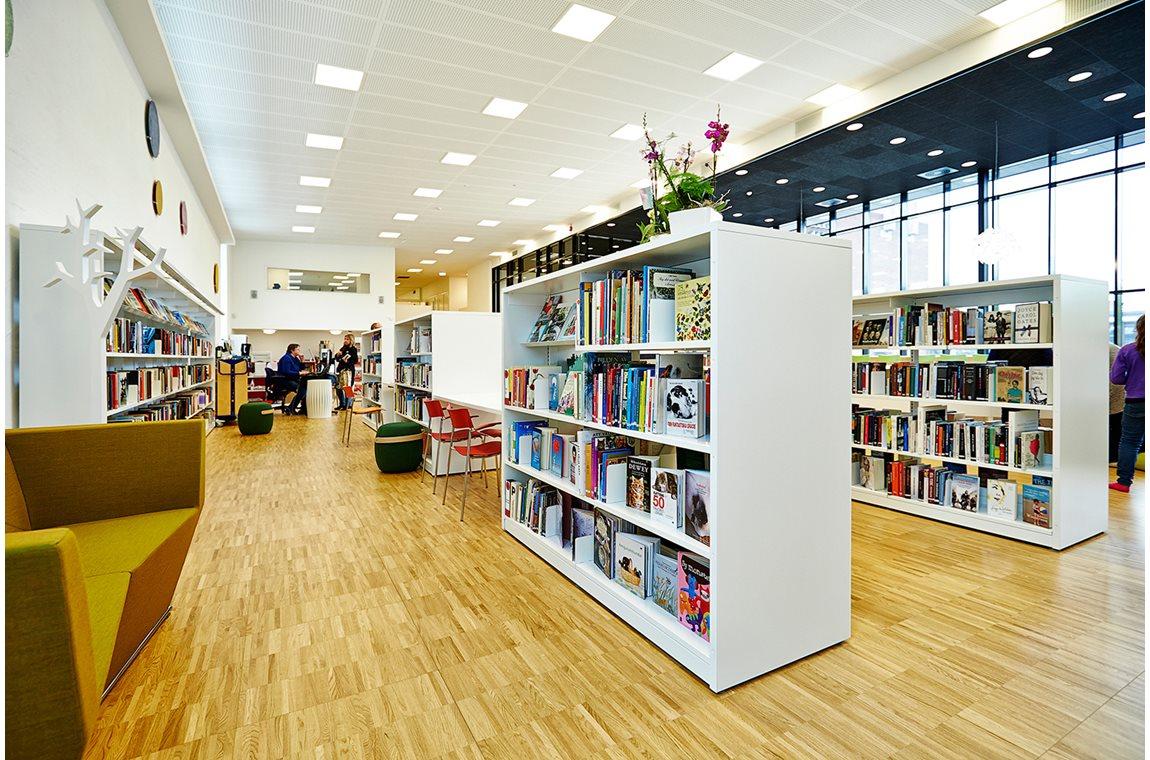 Mötesplats Klostergården i Lund, Sverige - Offentliga bibliotek