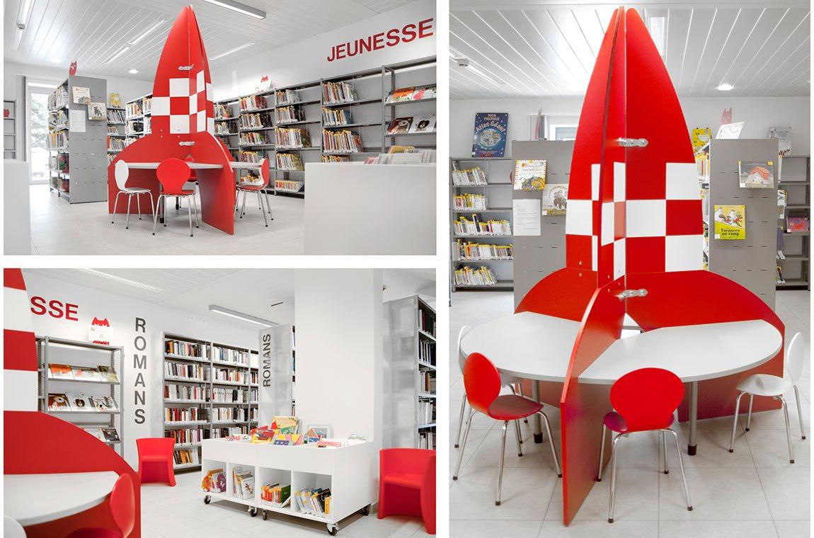 Bibliothèque municipale d'Aubange, Belgique - Bibliothèque municipale