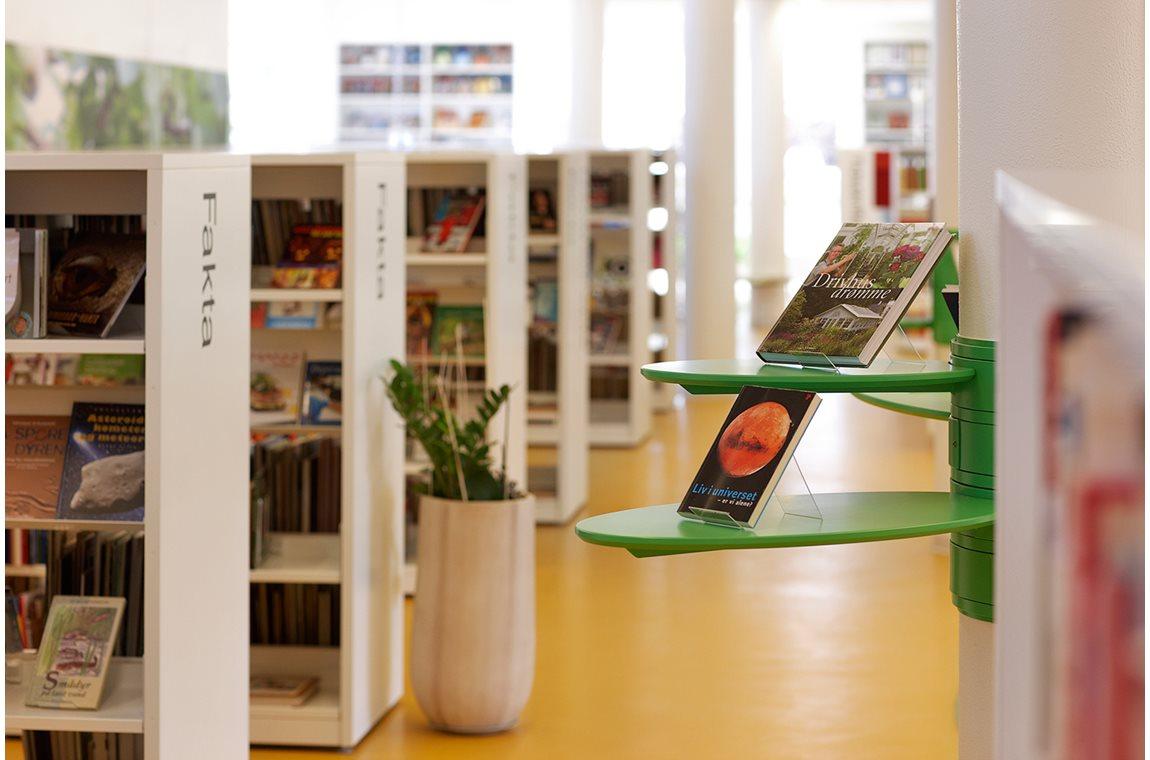 Bibliothèque municipale de Sindal, Danemark - Bibliothèque municipale