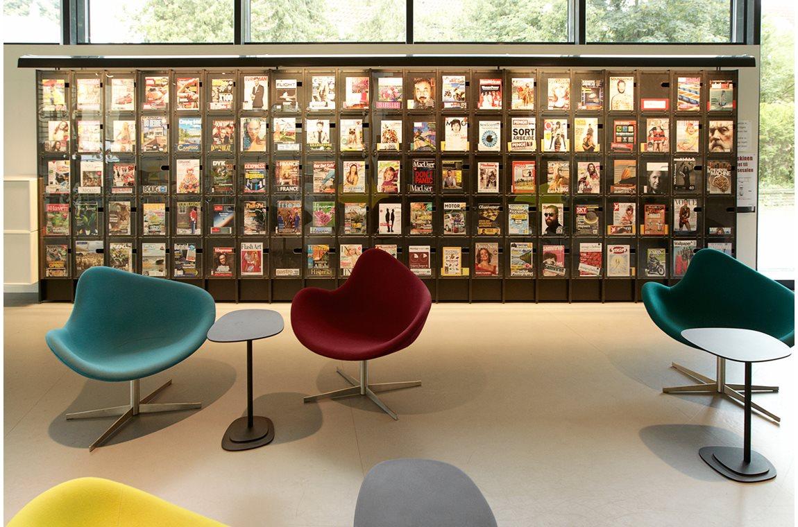 Bibliothèque municipale de Lyngby, Danemark - Bibliothèque municipale