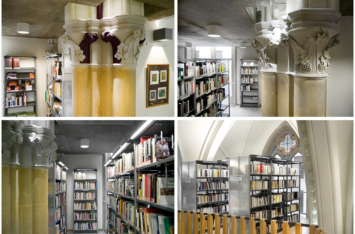 Virton Public Library, Belgium - Public libraries