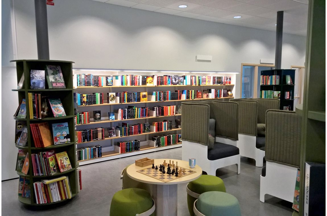 Torslanda Bibliotek, Kulturhuset Vingen, Sverige - Offentligt bibliotek