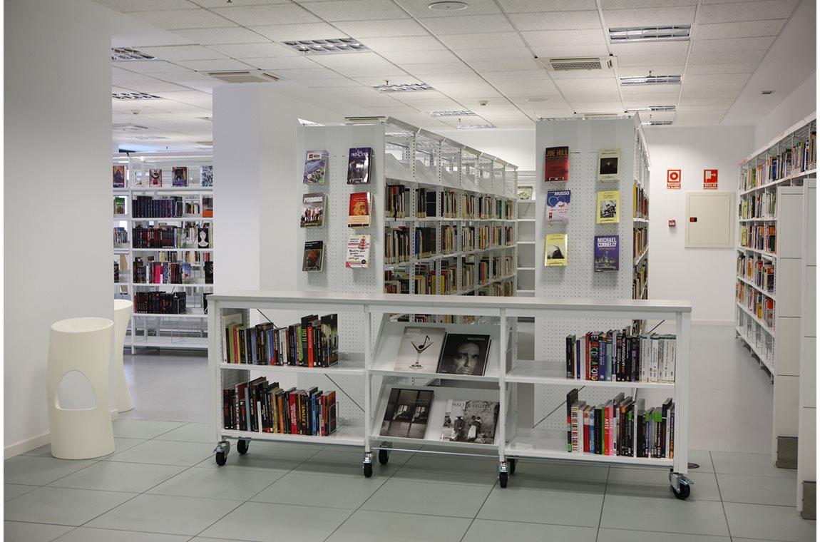 Alcobendas bibliotek, Spain - Offentligt bibliotek
