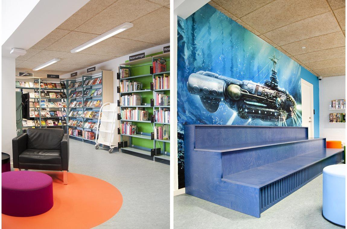 Vodskov Public Library, Denmark - Public libraries