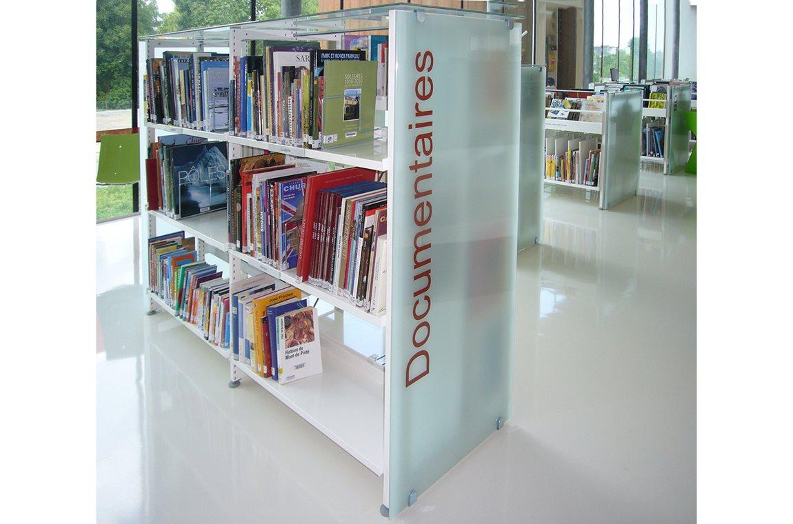 La Suze sur Sarthe Bibliotek, Frankrig - Offentligt bibliotek