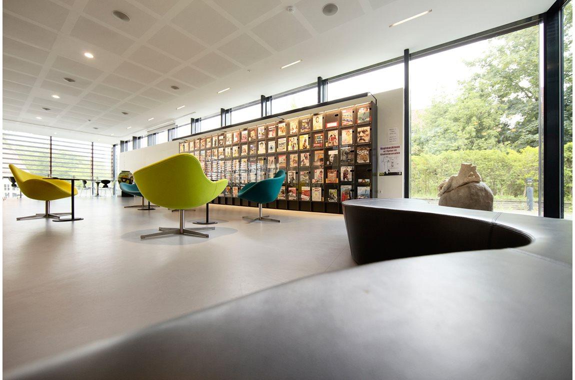Lyngby bibliotek, Danmark - Offentliga bibliotek