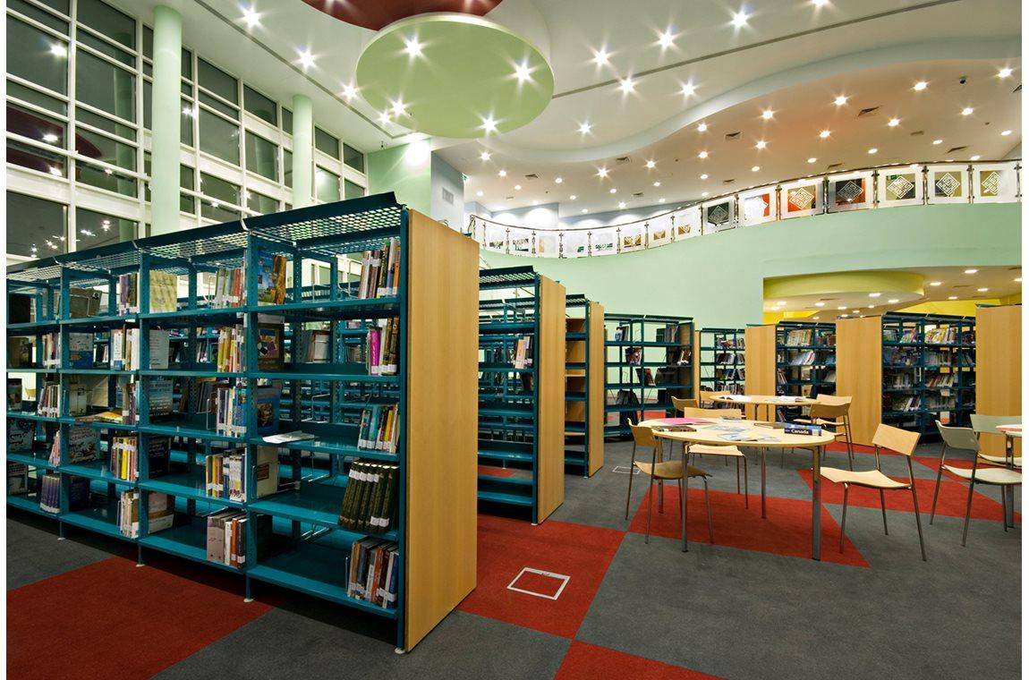 Al Mankhool bibliotek i Dubai, Forenede Arabiske Emirater - Offentligt bibliotek