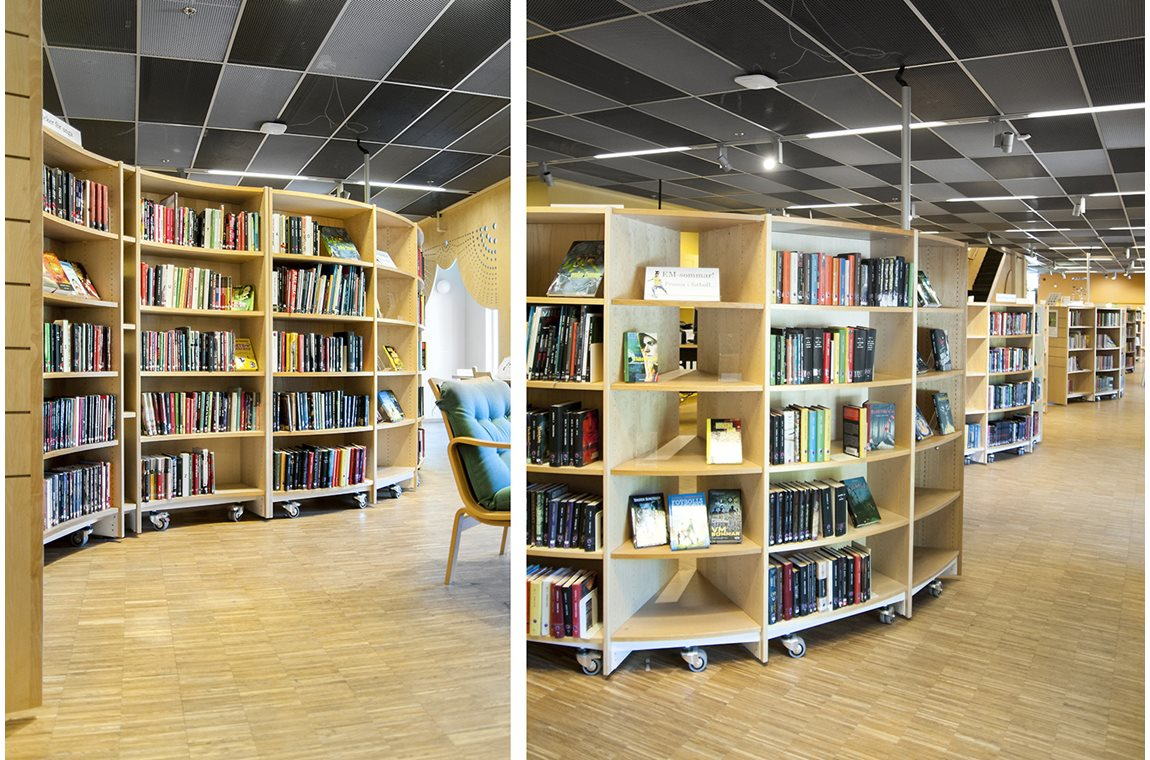 Gottsunda library, Uppsala, Sweden - Public libraries