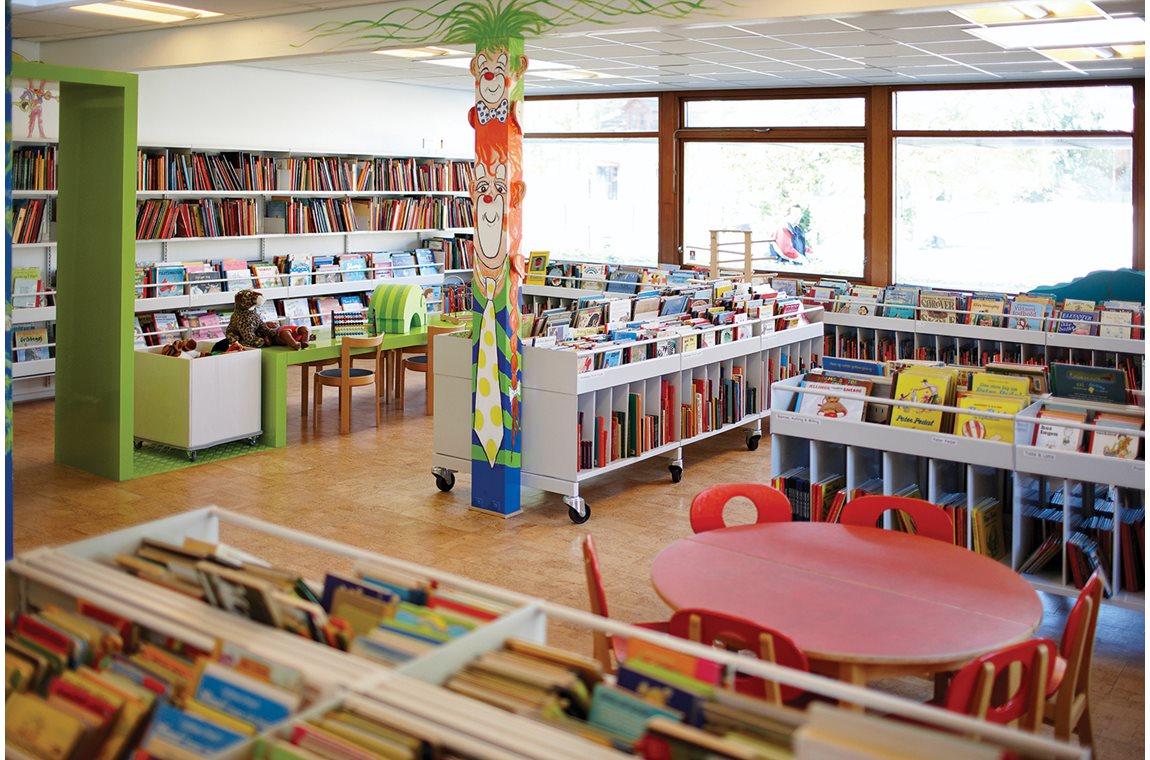 Glostrup bibliotek, Danmark - Offentliga bibliotek