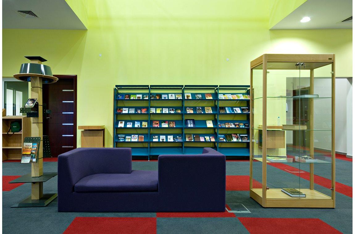 Bbibliothèque municipale d'Al Mankhool, Émirates Arabes Unis - Bibliothèque municipale