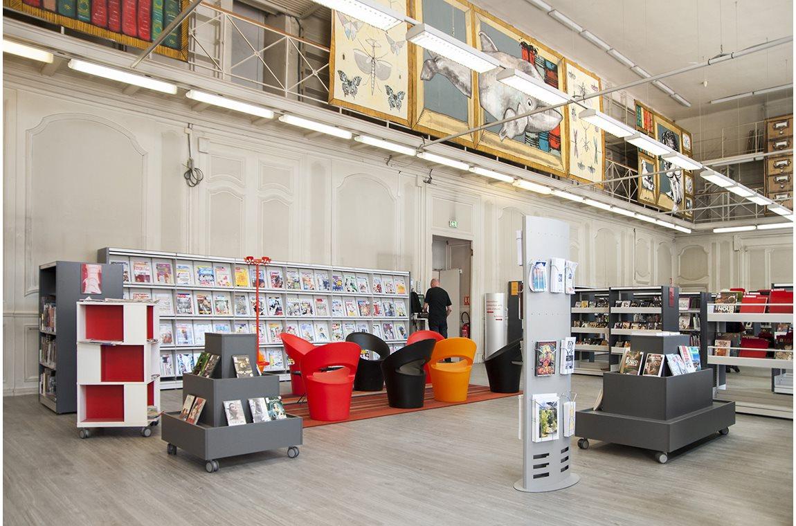 Lyon 5e St-Jean Public Library, France - Public libraries