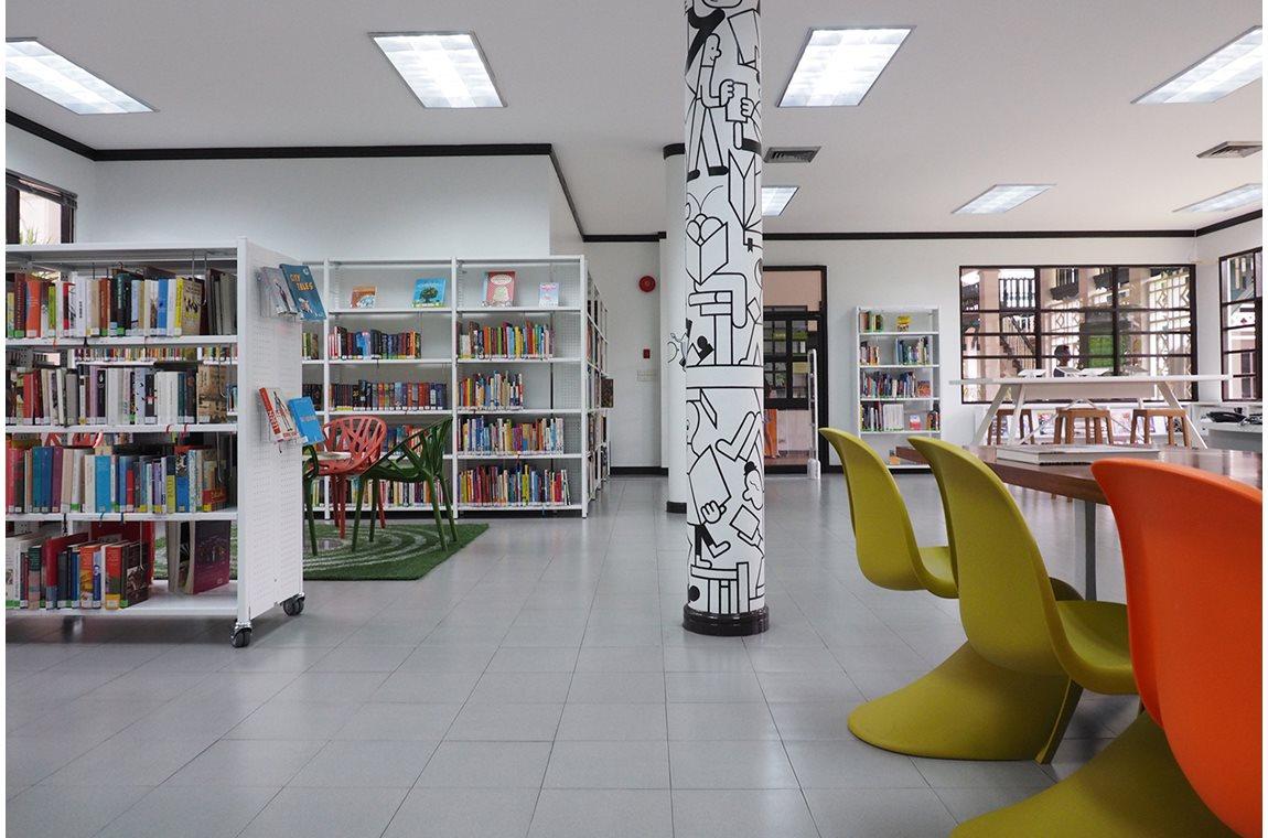 Goethe Institut Bangkok, Thaïlande - Bibliothèque municipale