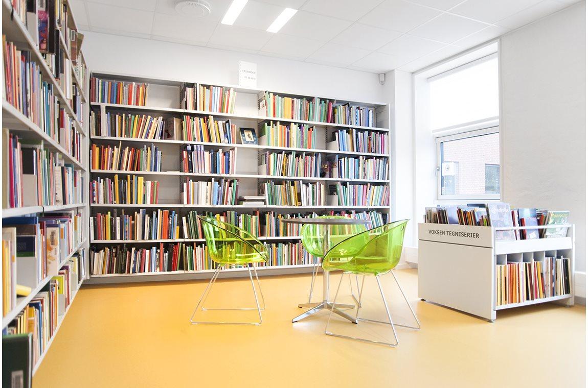 Openbare bibliotheek Vojens, Denemarken - Openbare bibliotheek